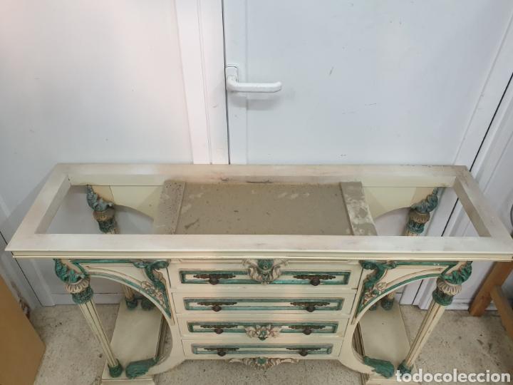 Antigüedades: Mueble recibidor - Foto 4 - 261285765