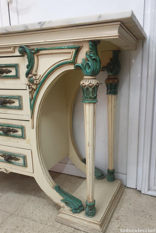 Antigüedades: Mueble recibidor - Foto 5 - 261285765