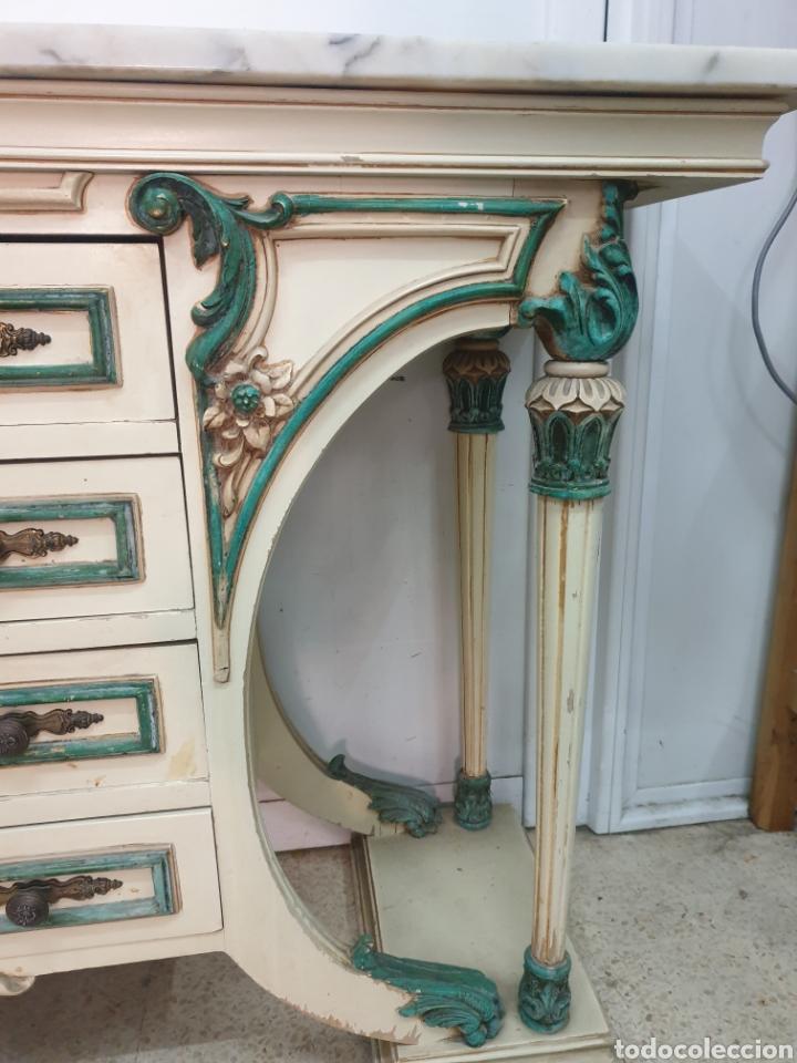 Antigüedades: Mueble recibidor - Foto 6 - 261285765