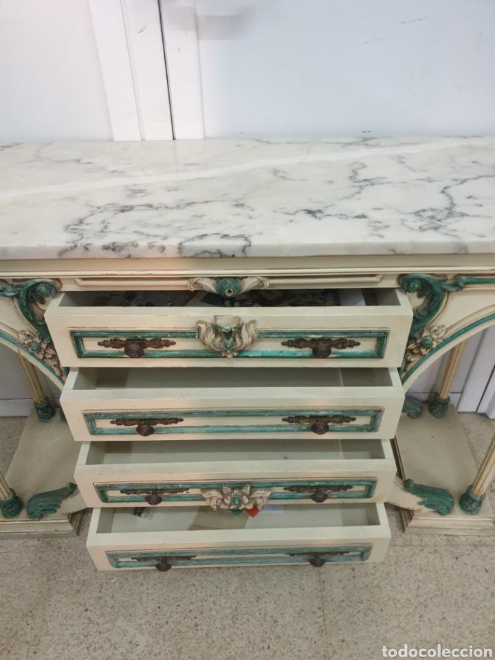 Antigüedades: Mueble recibidor - Foto 7 - 261285765
