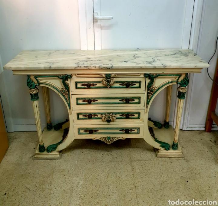 Antigüedades: Mueble recibidor - Foto 18 - 261285765