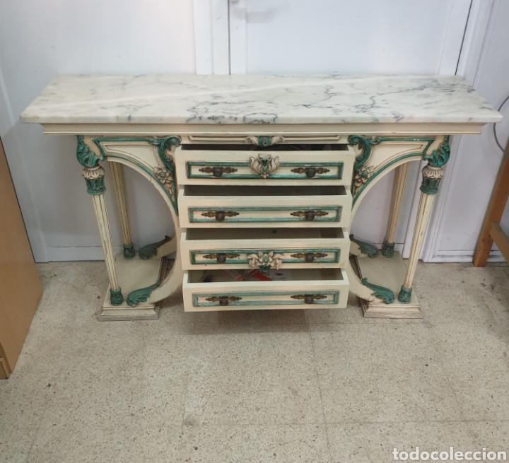 MUEBLE RECIBIDOR (Antigüedades - Muebles Antiguos - Repisas Antiguas)