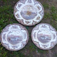Antigüedades: 3 PLATOS JOHNSON BROS.. Lote 261290470