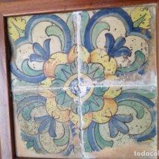 Antigüedades: ANTIGUO PANEL DE AZULEJOS.. Lote 261295290
