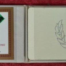 Antigüedades: MEDALLA CAMPEONATO MUNDIAL DE FUTBOL . PLATA 999. LAMAS BOLAÑO. 1982.. Lote 261327855
