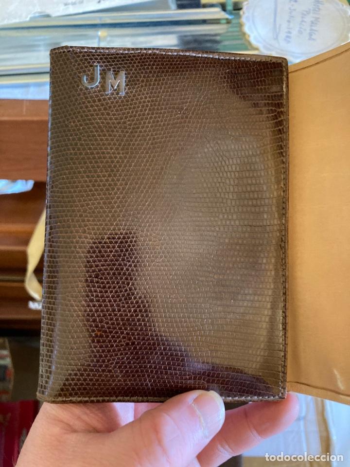 Antigüedades: Lote de carteras de hombre en piel - Foto 2 - 261332155