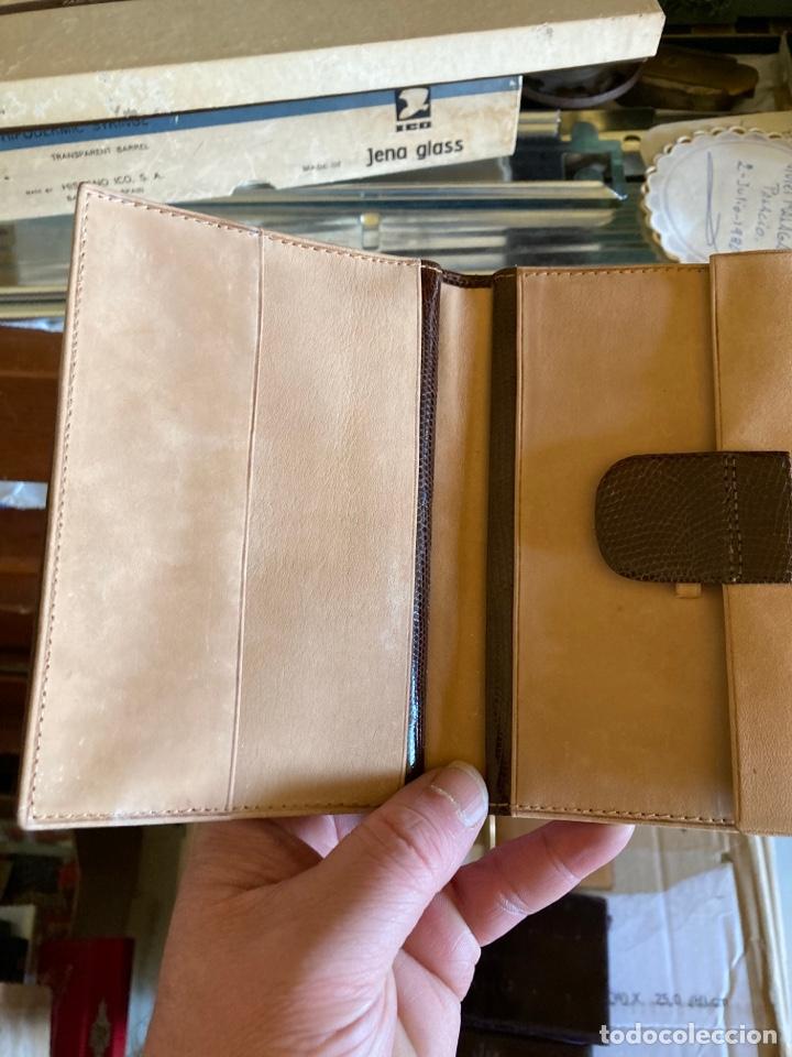 Antigüedades: Lote de carteras de hombre en piel - Foto 3 - 261332155