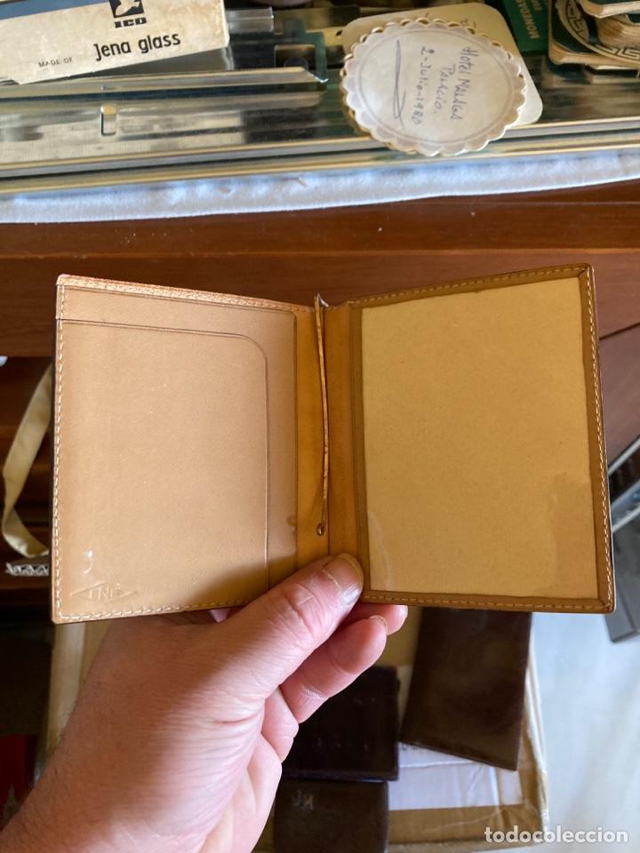 Antigüedades: Lote de carteras de hombre en piel - Foto 5 - 261332155