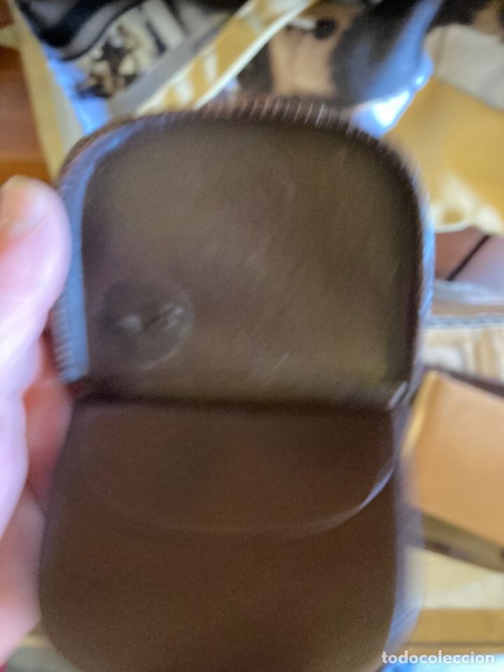 Antigüedades: Lote de carteras de hombre en piel - Foto 7 - 261332155