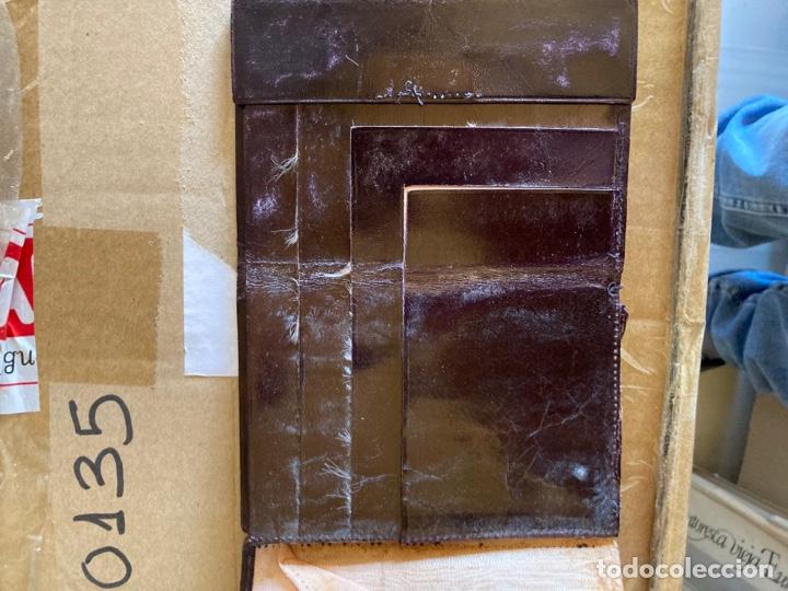 Antigüedades: Lote de carteras de hombre en piel - Foto 11 - 261332155