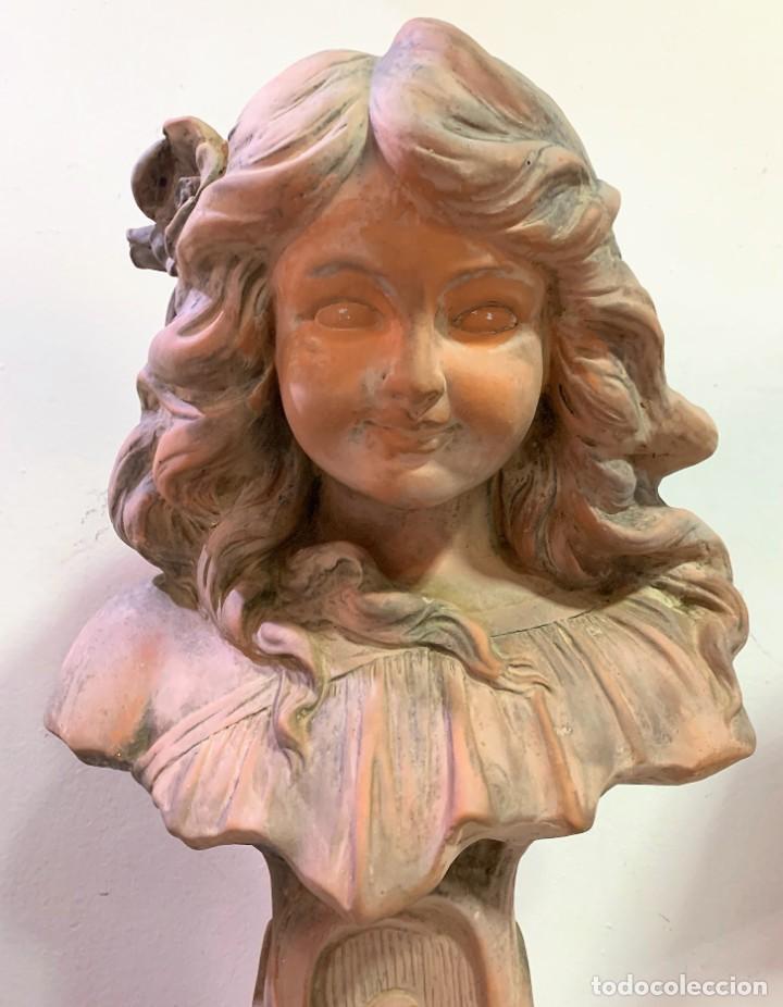 Antigüedades: Terracota de niña - Foto 2 - 261345060