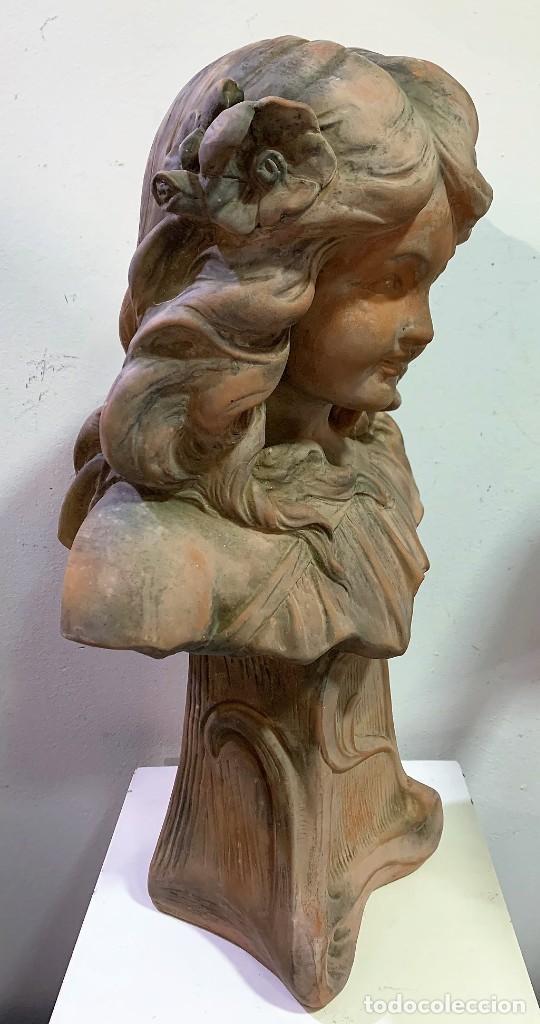 Antigüedades: Terracota de niña - Foto 3 - 261345060