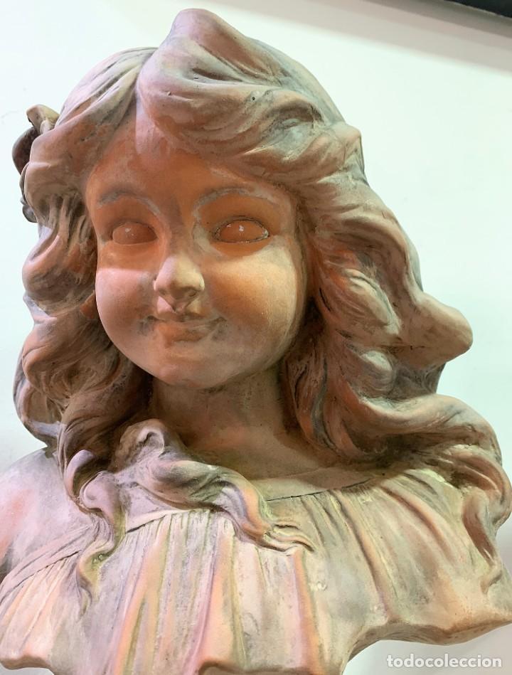 Antigüedades: Terracota de niña - Foto 7 - 261345060