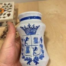 Antigüedades: BONITO BOTECITO DE TALAVERA. Lote 261350680