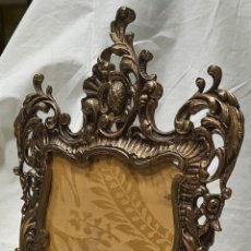 Antigüedades: ANTIGUO MARCO DE BRONCE O PORTARETRATOS. Lote 261535225