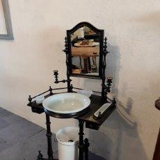 Antigüedades: LAVABO, PALANCANERO. Lote 261561110