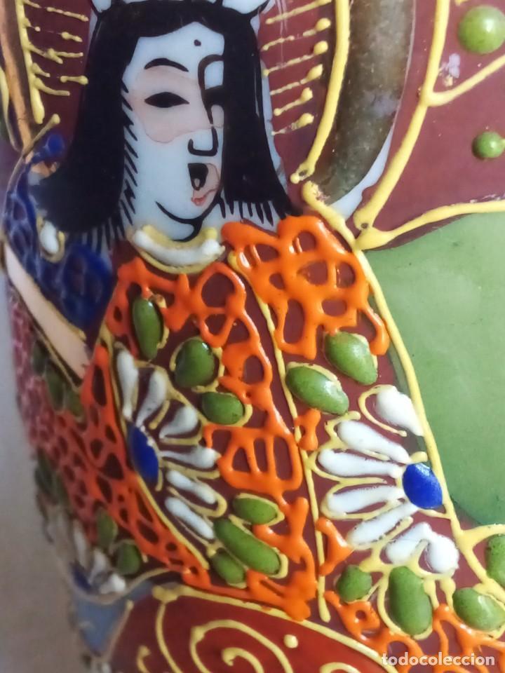 Antigüedades: Bonito jarrón satsuma - Foto 2 - 261592395
