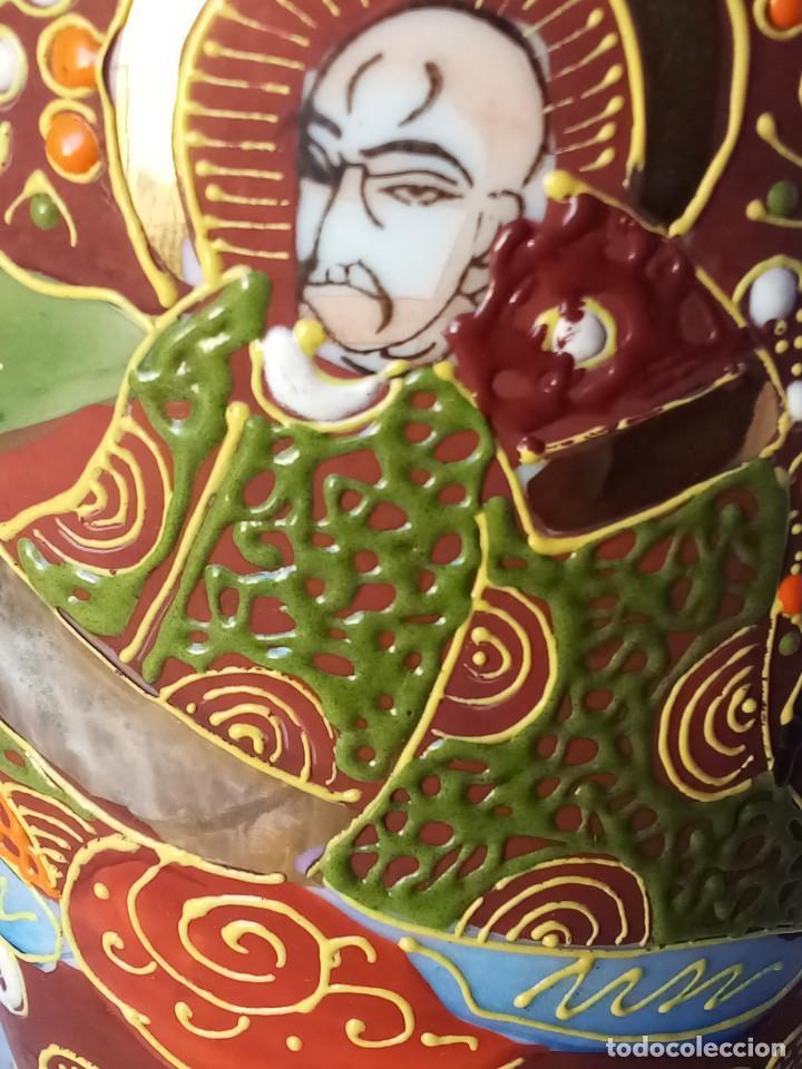 Antigüedades: Bonito jarrón satsuma - Foto 3 - 261592395