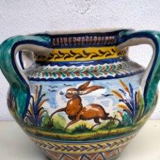 Antigüedades: DE COLECCION ANTIGUA BASIJA CERÁMICA DE TRINA. Lote 261611070