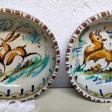 Antigüedades: ANTIGUA PAREJA DE CUENCOS TRIANA. Lote 261611935