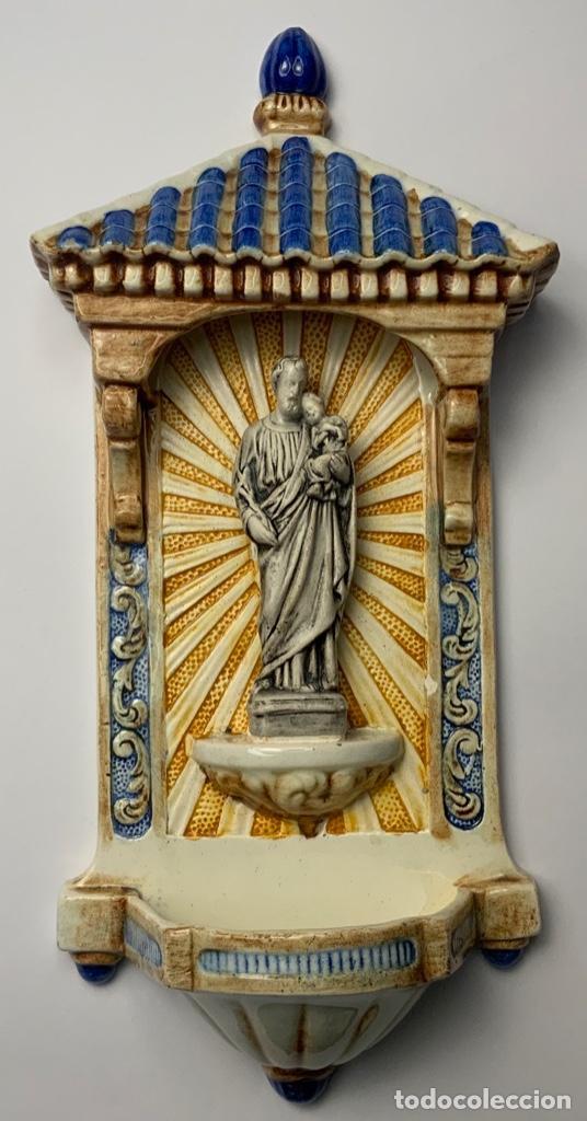 BENDITERA TRIANA (Antigüedades - Porcelanas y Cerámicas - Triana)