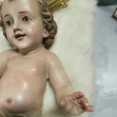 Antigüedades: NIÑO JESÚS DE OLOT CIRCA 1940. 25 CM. Lote 261630230