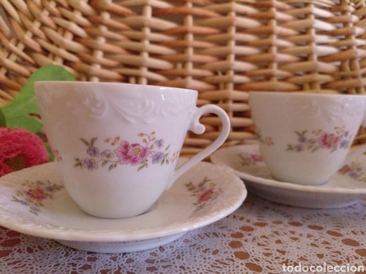 2 JUEGOS DE CAFÉ (Antigüedades - Porcelanas y Cerámicas - Otras)
