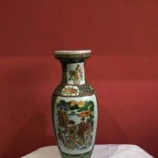 Antigüedades: JARRON PORCELANA.PRINCIPIOS S.XX CHINA.FIRMADO. 42 CM .VER FOTOS. Lote 261645665