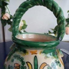 Antigüedades: HIELERA PUENTE DEL ARZOBISPO. Lote 261649450