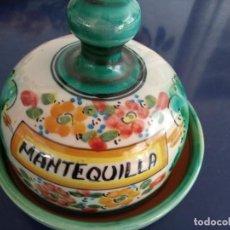 Antigüedades: MANTEQUILLERA PUENTE DEL ARZOBISPO. Lote 261649505