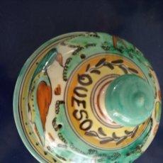 Antigüedades: QUESERA PUENTE DEL ARZOBISPO. Lote 261649545