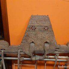 Antigüedades: ESPECTACULAR Y RARO YUGO DE PORTUGAL - OVAR. Lote 261698420