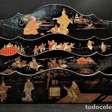 Antigüedades: MUEBLE CHINO ESCRITORIO S.XIX. Lote 261784085