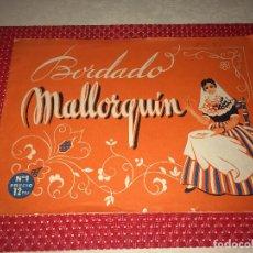 Antigüedades: BORDADO MALLORQUÍN - Nº 1 - 12 PTAS. - AÑOS 60. Lote 261867000