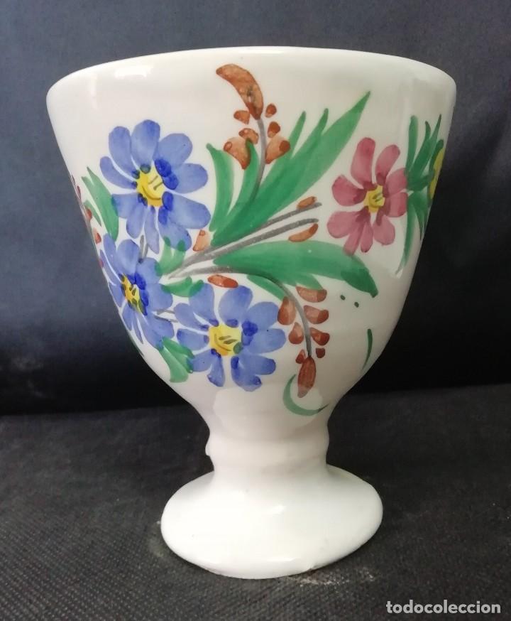 COPA CERÁMICA MURCIANA LARIO (Antigüedades - Porcelanas y Cerámicas - Lario)