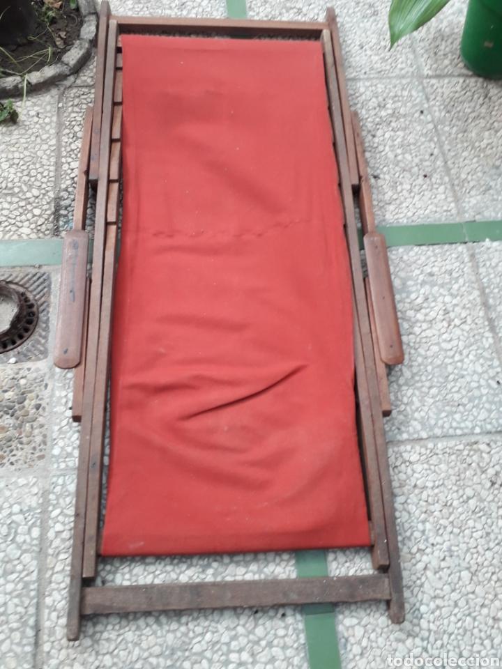 Antigüedades: HAMACA MUY ANTIGUA. TELA NUEVA - Foto 6 - 261908135