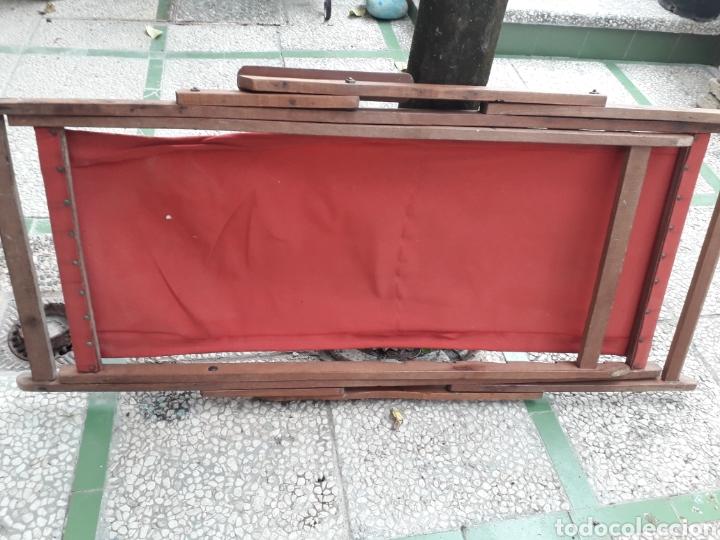 Antigüedades: HAMACA MUY ANTIGUA. TELA NUEVA - Foto 7 - 261908135