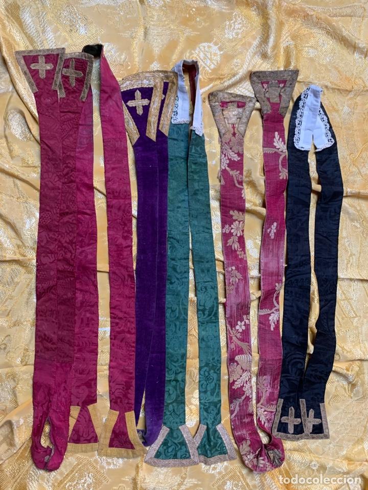 ESTOLAS ANTIGUAS (Antigüedades - Religiosas - Ornamentos Antiguos)