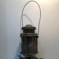 Antiguidades: AUER FEYER, LAMPARA DE PETROLEO - ORIGINAL. ANTIGUA. Lote 261924450