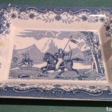 Antigüedades: CENICERO RECTANGULAR DE LA CARTUJA DE SEVILLA MIRAR FOTOS. Lote 261928335