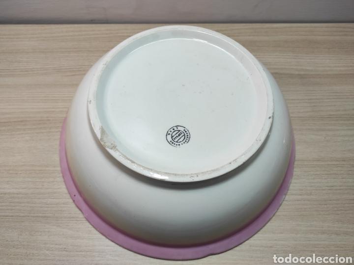 Antigüedades: Aguamanil palangana loza porcelana antigua - Foto 5 - 261930155