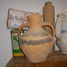 Antigüedades: CANTARO DE NIÑA DE CALANDA 21CM ULTIMA GENERACION DE ALFAREROS DE SAMPER DE CALANDA AÑO 60. Lote 262020725