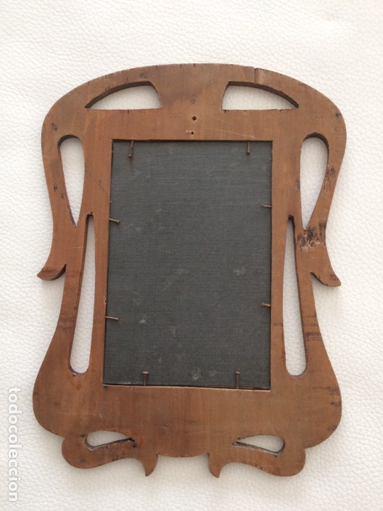 Antigüedades: Porta foto antiguo - Foto 9 - 262030590