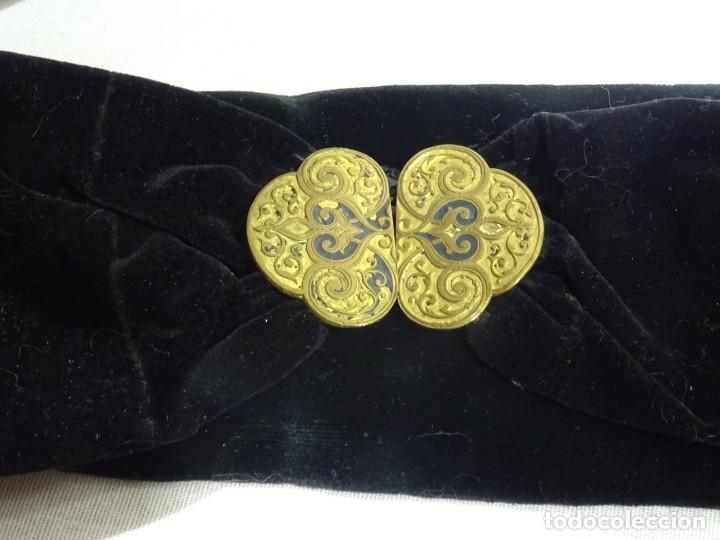 Antigüedades: 3 Cinturones Siglo XIX - Foto 3 - 262046690