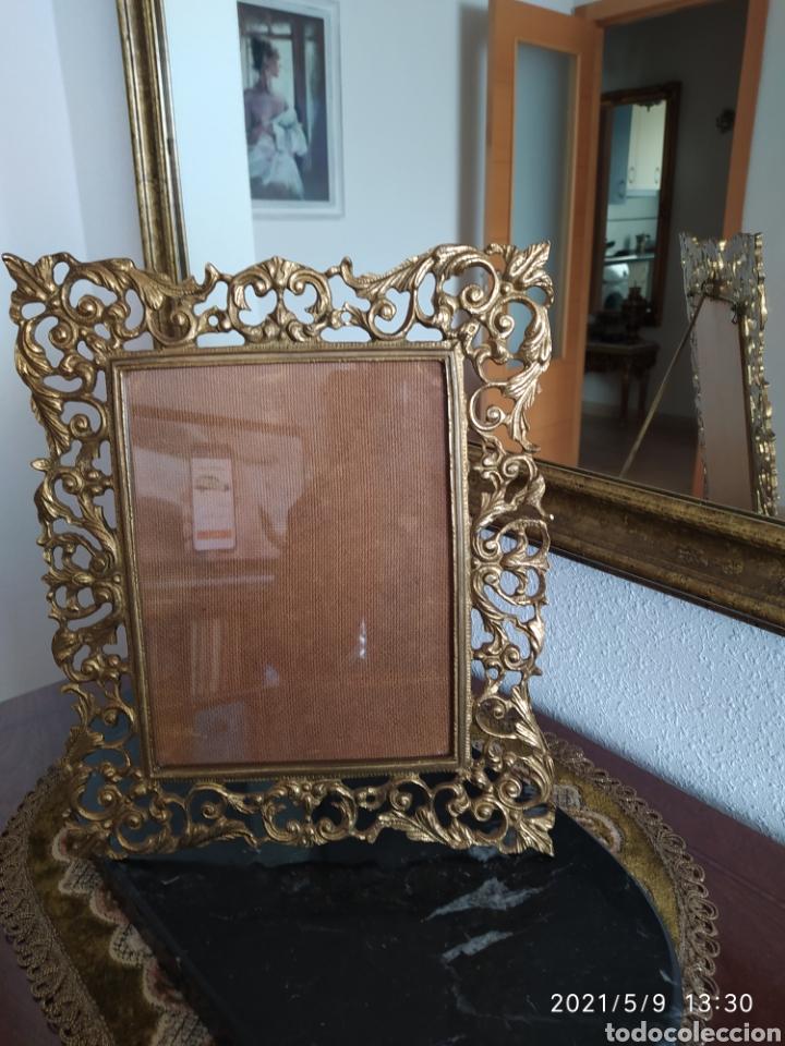 Antigüedades: Marco de bronce - Foto 2 - 262057870