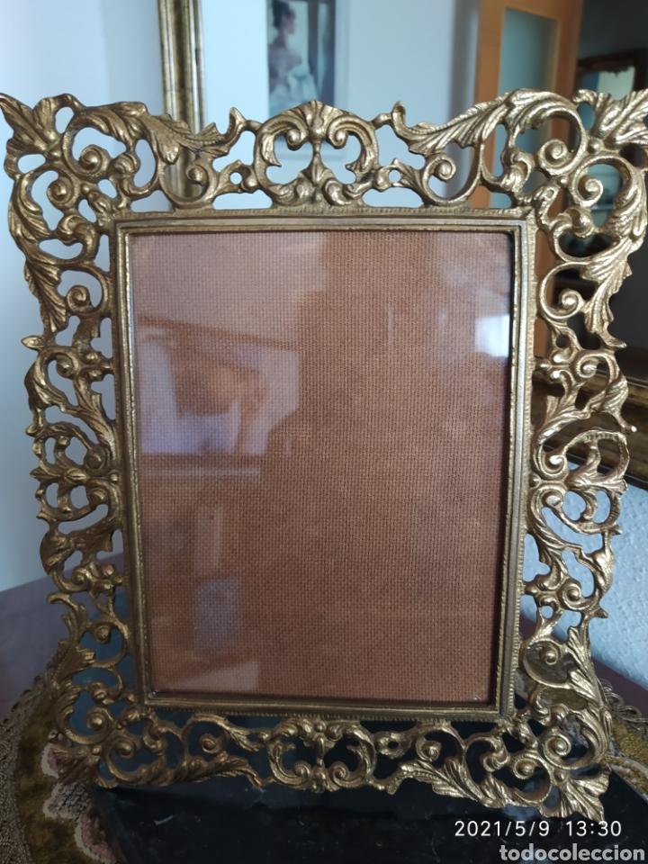 Antigüedades: Marco de bronce - Foto 3 - 262057870