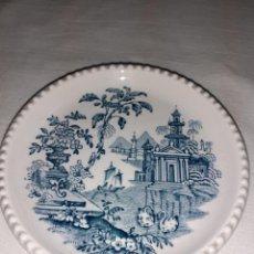 Antigüedades: PEQUEÑO PLATO PICKMAN LA CARTUJA. Lote 262069160