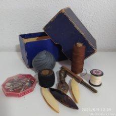 Antigüedades: JUEGO MÁQUINAS DE COSER. Lote 262070975