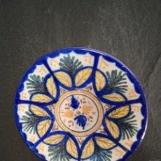 Antigüedades: PLATO CERÁMICA DE ARISTA - VICENTE QUISMONDO . TOLEDO. Lote 262109400