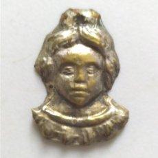 Antigüedades: ANTIGUO EXVOTO RELIGIOSO DE METAL. Lote 262119135